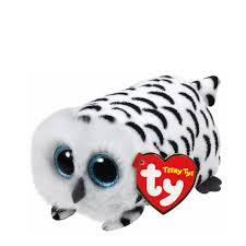 ty beanie boos teeny tys 4inch nellie owl stackable plush