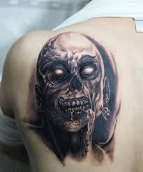 tattoo ideas zombie hardcore zombie tattoo on the back free live stats top tattoo release