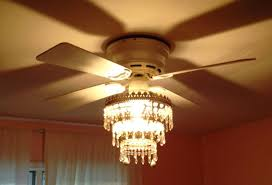 luxury modern chandelier with ceiling fan attached