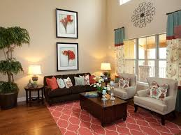 Living Room Standing Lamps Brown And Turquoise Living Room Furniture Stripes Fabric Comfy