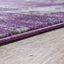 Wohnzimmer Lila Grau Moderner Wohnzimmer Teppich Hochwertig Muster Abstrakt Meliert In