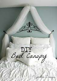 diy bed canopy bedroom canopy spindles designs by mary and mags
