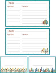 printable recipes templates 25 free printable recipe cards home cooking memories