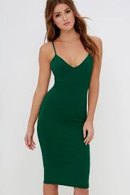 green bodycon dress good dresses