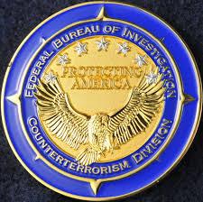 counter terrorism bureau us fbi counterterrorism division challengecoins ca