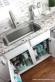 kitchen sink organizer ideas best 25 kitchen sink organization