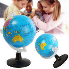 8 5cm world globe atlas map with swivel stand geography
