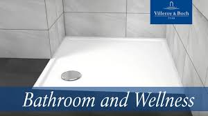 shower tray installation with a steel frame villeroy u0026 boch