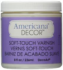 Americana Decor Chalky Finish Paint Lace by Amazon Com Deco Art Soft Touch Varnish 8 Ounce Clear Arts