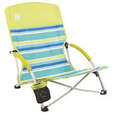 Lightweight Travel Beach Chairs Amazon Com Coleman Utopia Breeze Beach Sling Chair Sports