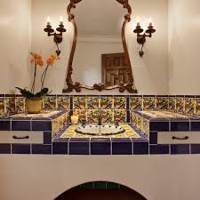 Mexican Tile Bathroom Ideas Colors Best 20 Mediterranean Bathroom Ideas On Pinterest Mediterranean