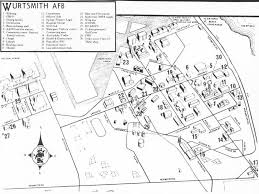 afb map wurtsmith afb united states nuclear forces