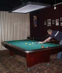 professional pool table size led professional pool table lights