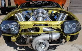 supra 2jz forget the 2jz this supra has a hemi v8 with a ridiculous turbo