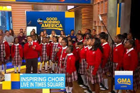 make up classes in baltimore md baltimore middle school choir performs on gma after viral wtop