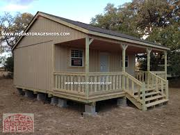 mega storage sheds ranch cabins