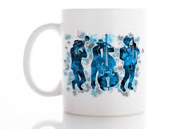 jazz mug music mug coffee mug tea mug unique mug funny mug