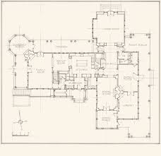 Architectural Floor Plan by John B Murray Architect Recent Work Shingle Style Residence