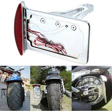 motorcycle license plate frame with led brake light aftermarket free shipping motorcycle parts license plate assembly