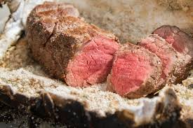 salt crusted beef tenderloin grilled beef tenderloin in a salt crust thermoworks