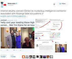 This claim was also spread RT  who ran an article with the headline    Suspicious US company tried to frame Assange as      pedophile      and Russian spy    and also