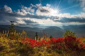 blue ridge parkway autumn colors scenic landscape photography