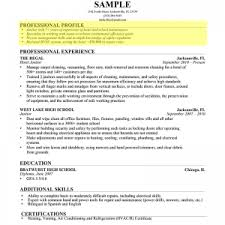 Sample Resume For Janitor Cover Letter Cover Letter Example Resume Profiles Foxy