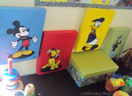Disney Kids Room by Craftionary