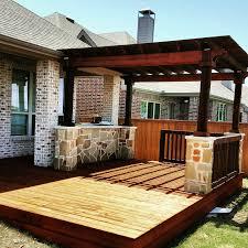 Pergolas And Decks by Arbors Pergolas Deck Lifetime Outdoor Patio Cover Companies