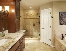 ivory travertine tile bathroom traditional with bathroom