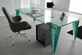 Glass And Chrome Desk Glass And Chrome Writing Desk One Decor