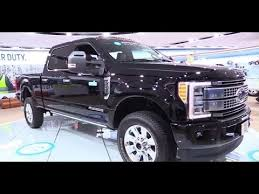 Ford F250 Platinum Interior 2017 Ford F250 Super Duty Platinum Exterior And Interior Youtube