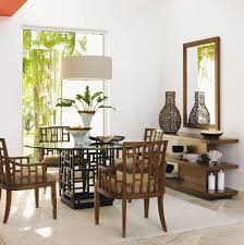 Tropical Dining Room Furniture by Tommy Bahama Home Ocean Club Sliding Door Point Break
