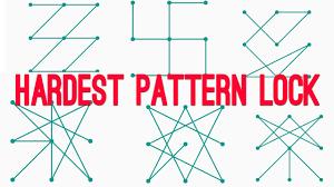 pattern lock design images top 6 hardest pattern lock ever how to do it اجمل و اصعب النموط