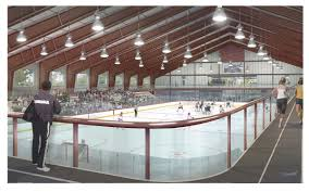 plan for arena featuring ice rink in ellsworth is unveiled the