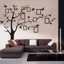 online get cheap family wall decals quotes aliexpress com pictures frame large tree wall decals living room decoration family quotes wall arts decals adesivo de