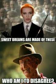 Nancy Meme - freddy nancy meme horror funny characters freddy krueger