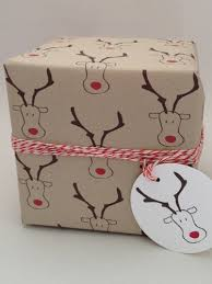 country wrapping paper decore