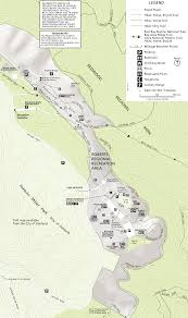 Oakland Map Roberts Regional Recreation Area