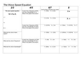 waves revision for the new aqa physics spec also good for p1