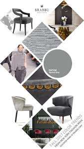 fall 2017 color trends from london fashion week neutral gray