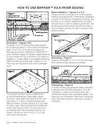 Patio Paver Installation Instructions by Paver Brick Edging Barrier Paver Edging 32 Pack U2013 214 4 U0027