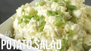 homemade deli style potato salad classic country style recipe