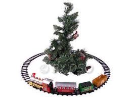 express track set with carriages light