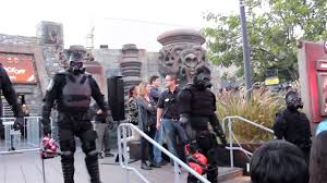 halloween horror nights 2015 express pass the purge opening ceremonies at universal hollywood halloween