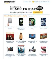 amazon black friday deals web site using amazon to study upcoming holiday trends ppc org