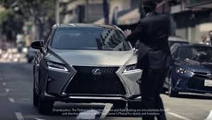 lexus 2017 2017 lexus rx commercial shows that to err is human autoevolution