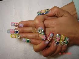 long acrylic 3d nail art by nailartmaria nail art gallery