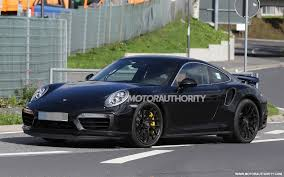 turbo porsche 911 2016 porsche 911 turbo spy shots with interior