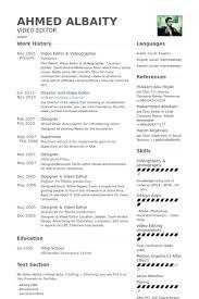 resume editor editor resume template editor resume sles visualcv